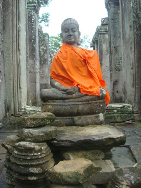 Angkor también tuvo su periodo budista.
