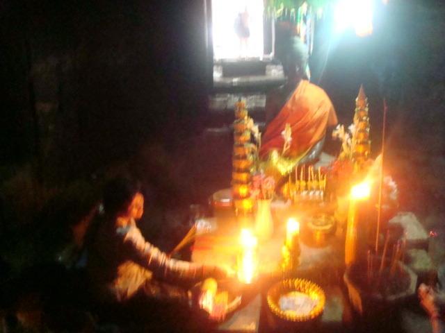 Ritos en Angkor