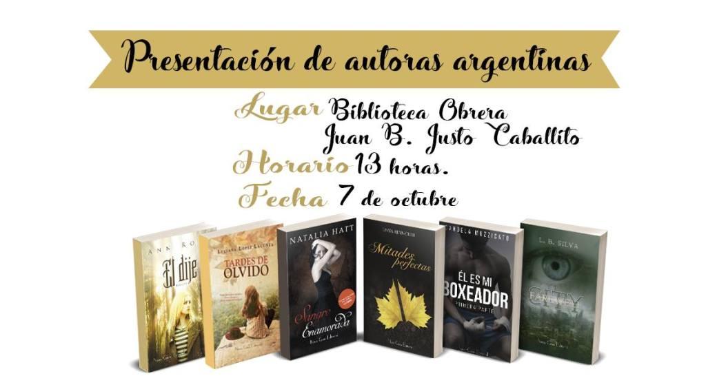 Presentación de escritoras argentinas