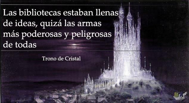 frase trono de cristal